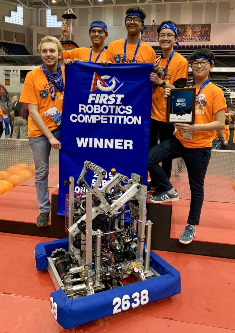 South High Rebel Robotics takes first place at regional event