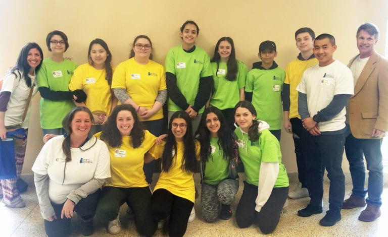Great Neck high schoolers attend youth wellness summit