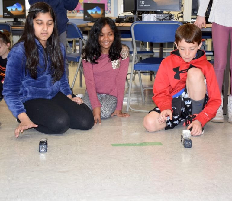 A Race to the Finish for Floral Park students