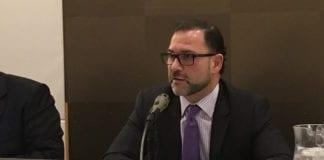 NIFA Chairman Adam Barsky, as seen at a previous meeting. (Photo by Noah Manskar)