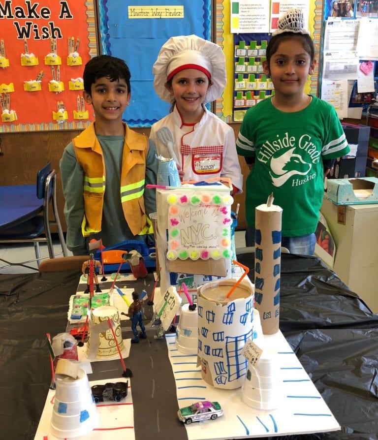 Hillside Grade School students create 3D communities