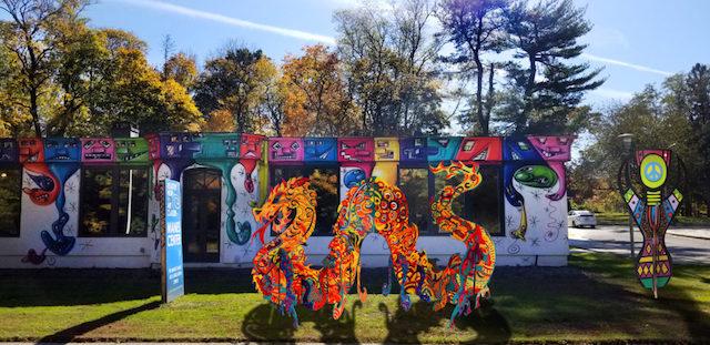 Newark's Animodules travel to LI art museum