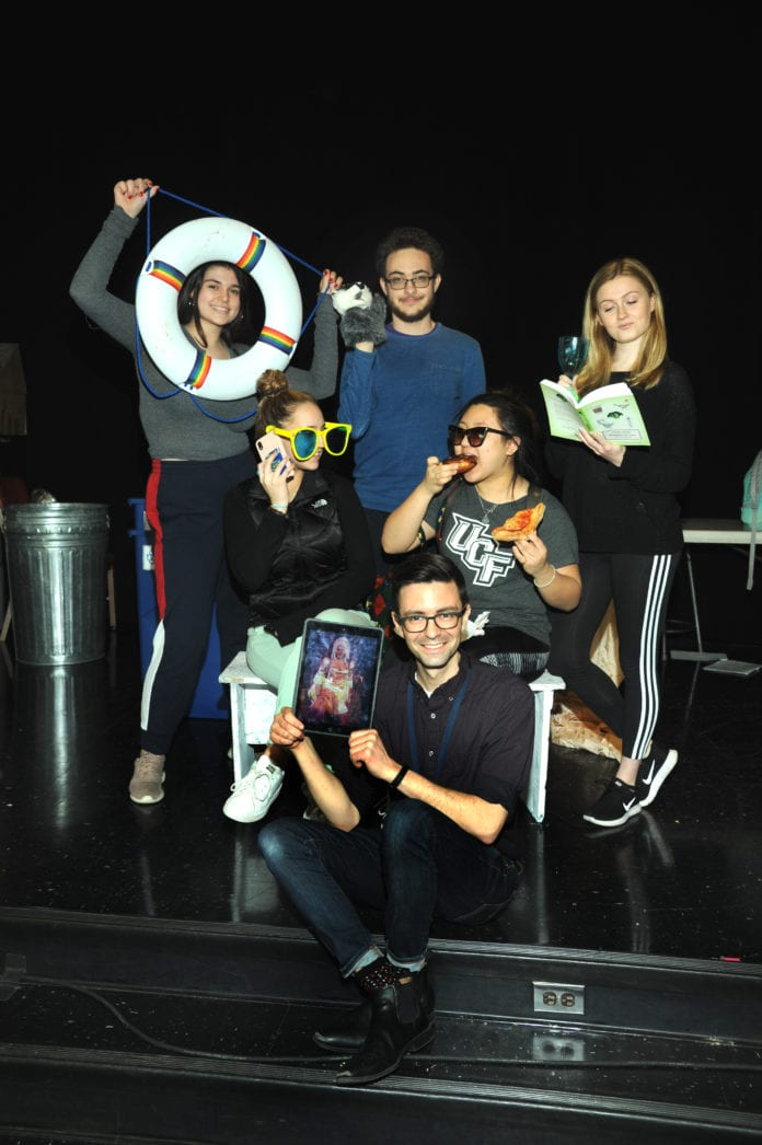 The South High Improv Troupe will perform on May 17. (Photo by Bill Cancellare)