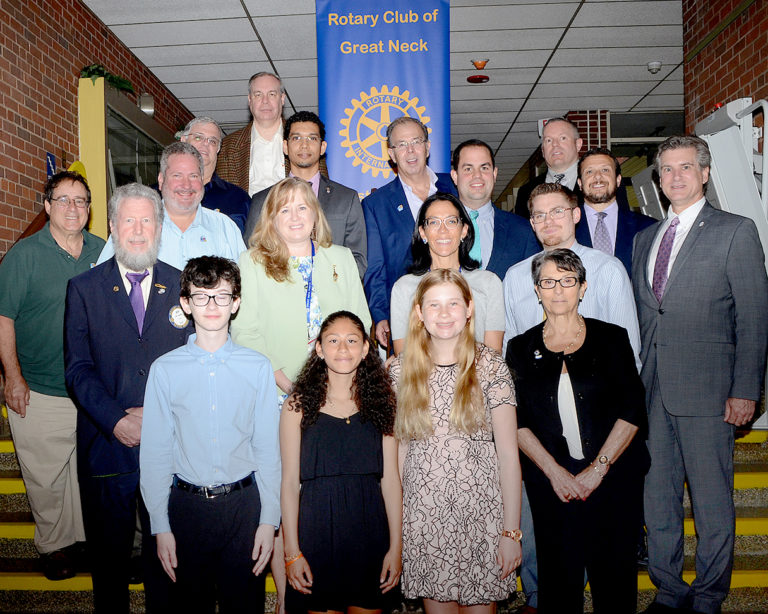 Rotary recognizes Great Neck middle schoolers