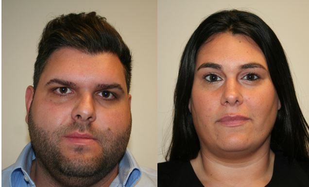 Ellie and Jessica Knoller, a Mineola couple, face charges related to animal cruelty. They're due again in court on June 3. (Photos courtesy of the Nassau County District Attorney's Office)