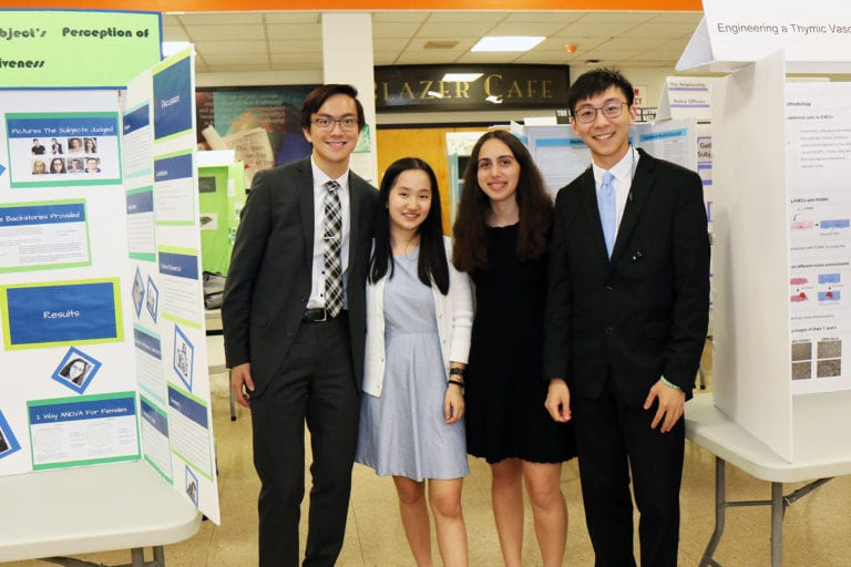 Great Neck North High celebrates science, shows off projects