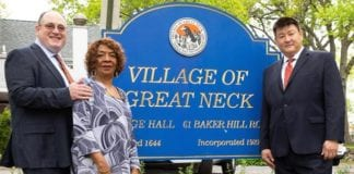 The Great Neck Village slate headed by James Wu called for the Nassau County Board of Elections to oversee the village election to prevent voter irregularities. (Photo courtesy of the Village for All campaign)