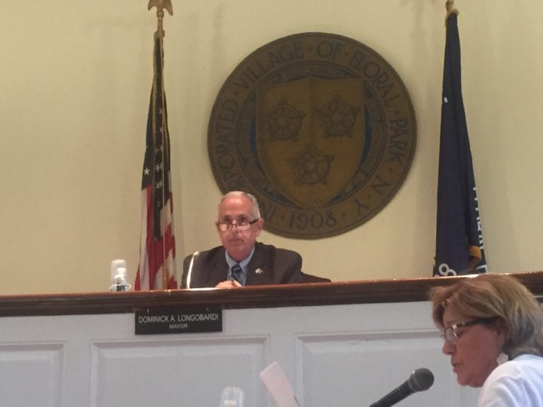 Floral Park asking for Belmont comments, reviewing legal options