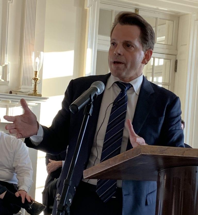 Scaramucci pulls backing for Trump's 2020 bid