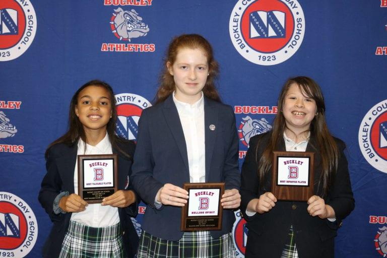 Three Port student-athletes take home Buckley awards