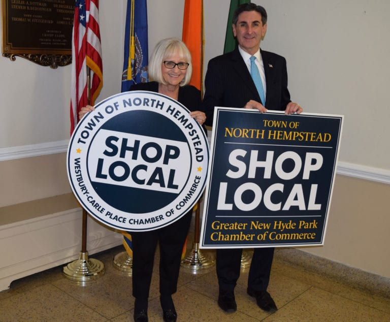 Town of N. Hempstead partners with chambers of commerce to promote shopping locally