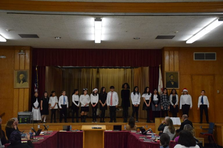 New Hyde Park and Garden City Park Students Perform at Board of Education Meeting