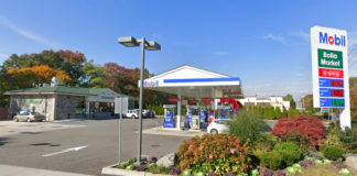 Old Westbury trustees held on approving the replacement of Bolla Market with Burger King, citing the need to review a traffic study. (Photo from Google Maps)