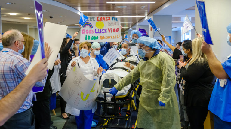 Northwell discharges 10,000th COVID-19 patient