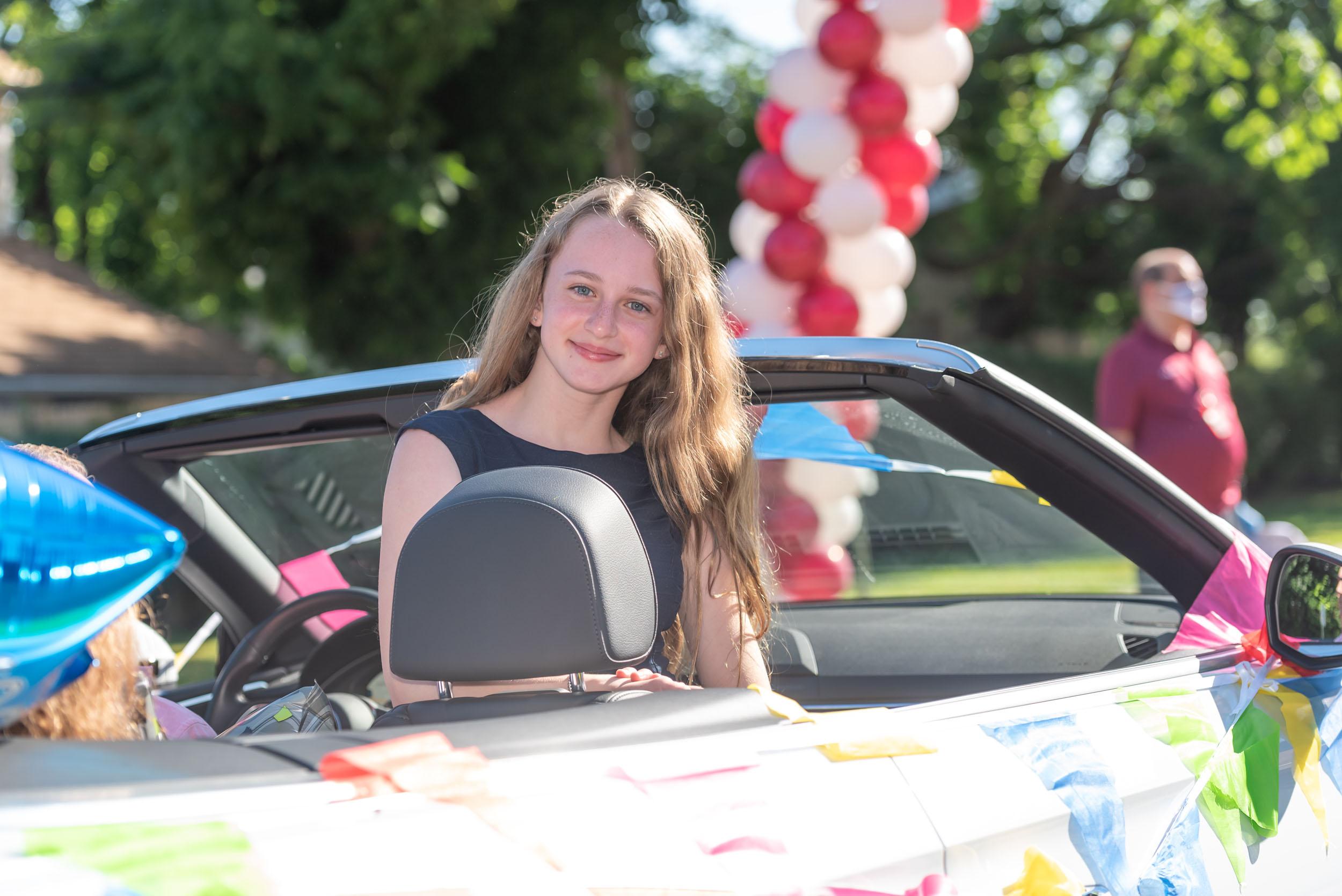North Shore Middle School Car Parade