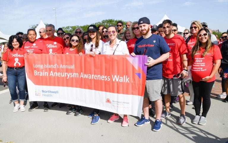 Long Island's Brain Aneurysm Awareness Walk goes virtual