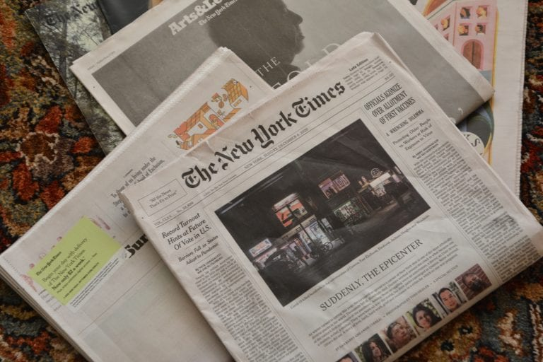 Our Town: Sunday's newspaper is a humanizing read