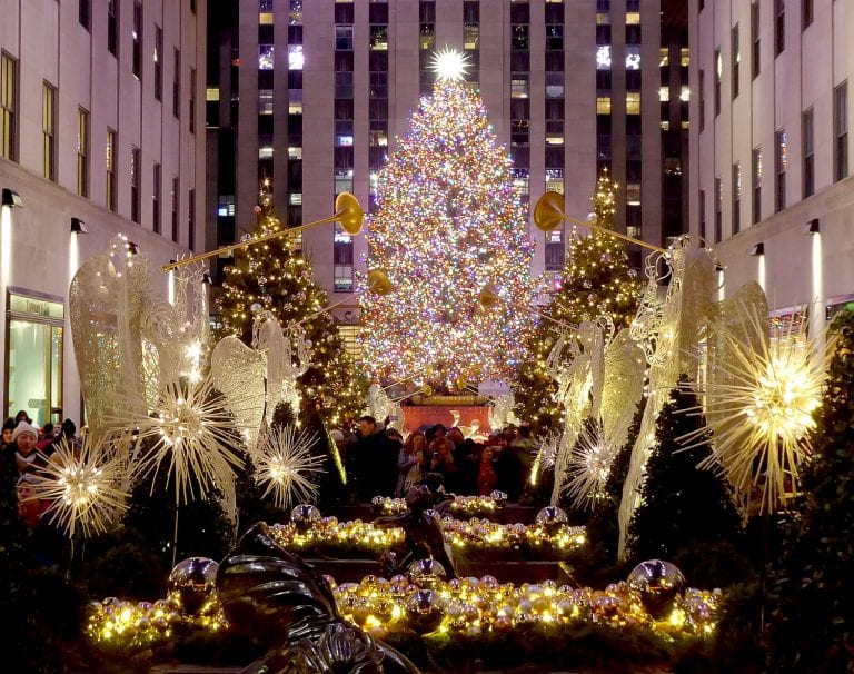 Going places: Nothing stops NYC's holiday magic