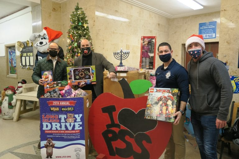 Ra participates in successful toy drive for local children during holiday season