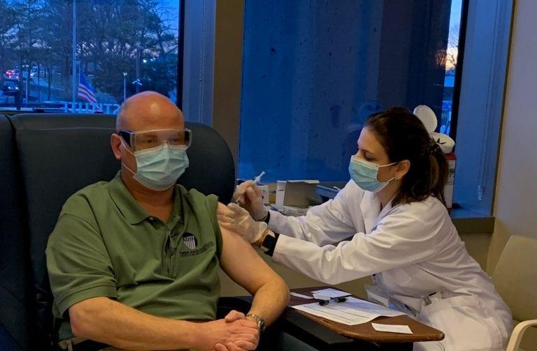 Parker Jewish Institute administers second dose of COVID-19 vaccine