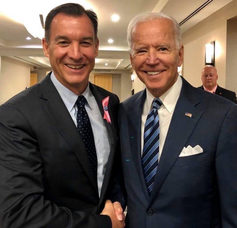 Local officials congratulate Biden, Harris on inauguration