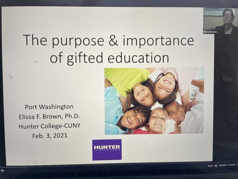 AGATE Hosts Dr. Elissa Brown for a discussion of 'The Purpose and Importance of Gifted Education'