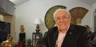 Former Congressman Lester Wolff died last week at 102. (Photo by Teri West)