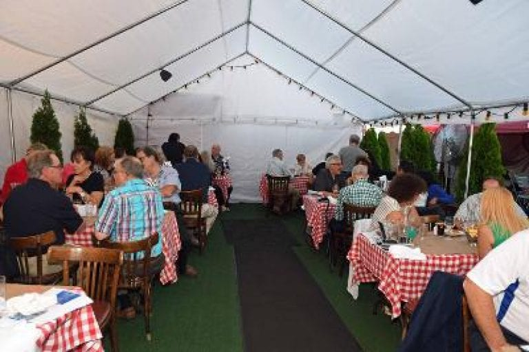 New Hyde Park Chamber outdoor feast
