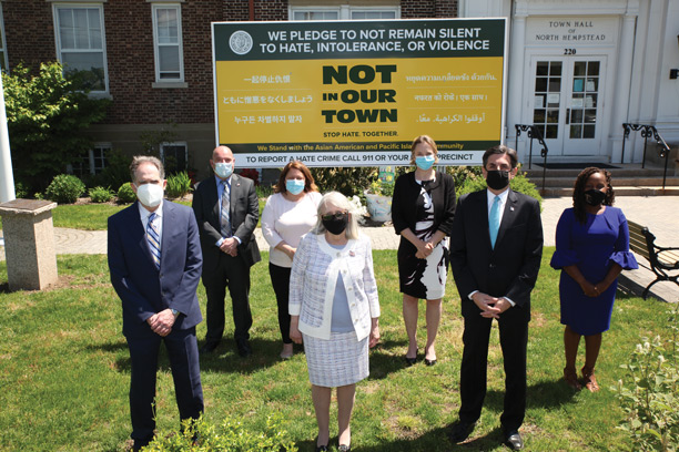 Town of North Hempstead joins with residents to combat hate