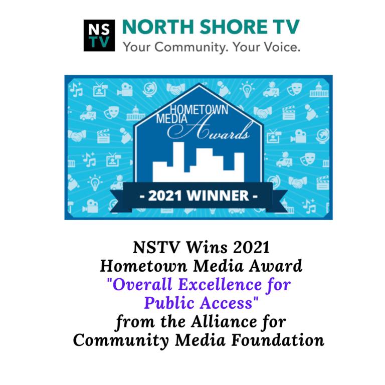 NSTV wins 2021 Hometown Media Award from the Alliance for Community Media