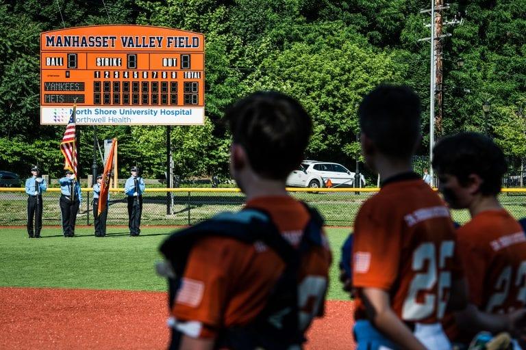 North Shore University Hospital donates scoreboard to Manhasset PAL