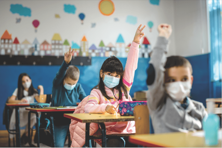 Confusion arises over state's guidelines on masks in N.Y. school districts