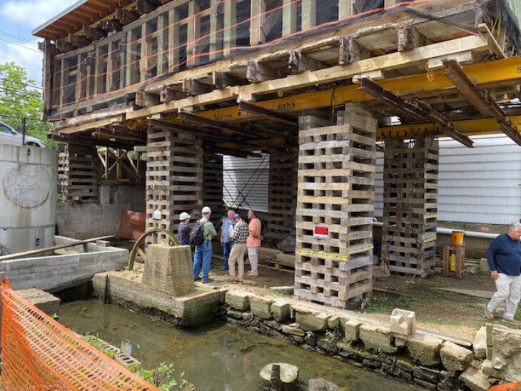 Construction on Roslyn Grist Mill's new foundation to commence in July