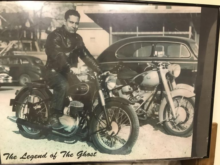 Longtime Port resident, motorcycle enthusiast Sal 'The Ghost' DeFeo dies at 94