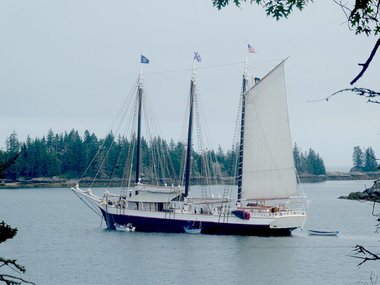 Going places: Mystery on the historic Maine Windjammer Victory Chimes