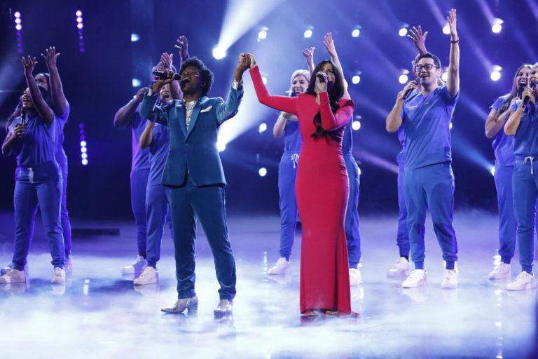 'America's Got Talent' finale sees Northwell Health Nurse Choir join Idina Menzel