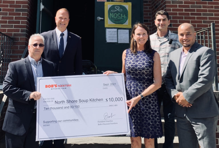 NSSK/NOSH receives major donation from Bob's Discount Furniture