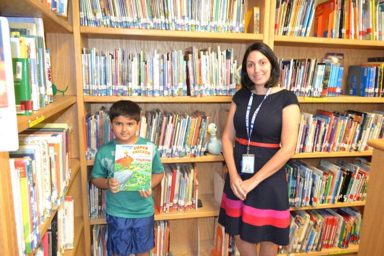 Searingtown congratulates published third grade author