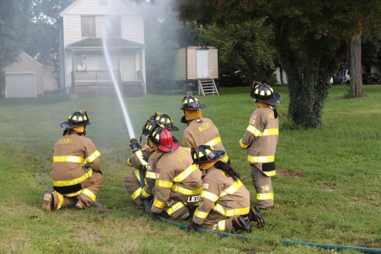Great Neck Alert junior firefighters meet in-person for first time since pandemic