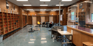Library renovations at North Middle School were just a part of the construction done throughout Great Neck schools over the summer. (Photo courtesy of the Great Neck School District)