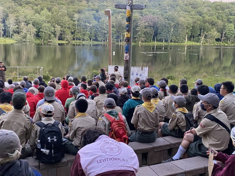 31 Boy Scouts in Troop 10 spend one week at Onteora Scout Reservation Camp in August
