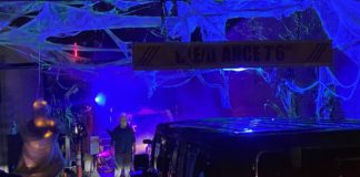 """The Five Corners Auto Salon on Hillside Avenue will be donating a portion of their proceeds from the """"Tunnel of Terror"""" to the Cohen Children's Medical Center Child Life and Creative Arts Therapy Program. (Photo courtesy of David Rubenstein)"""