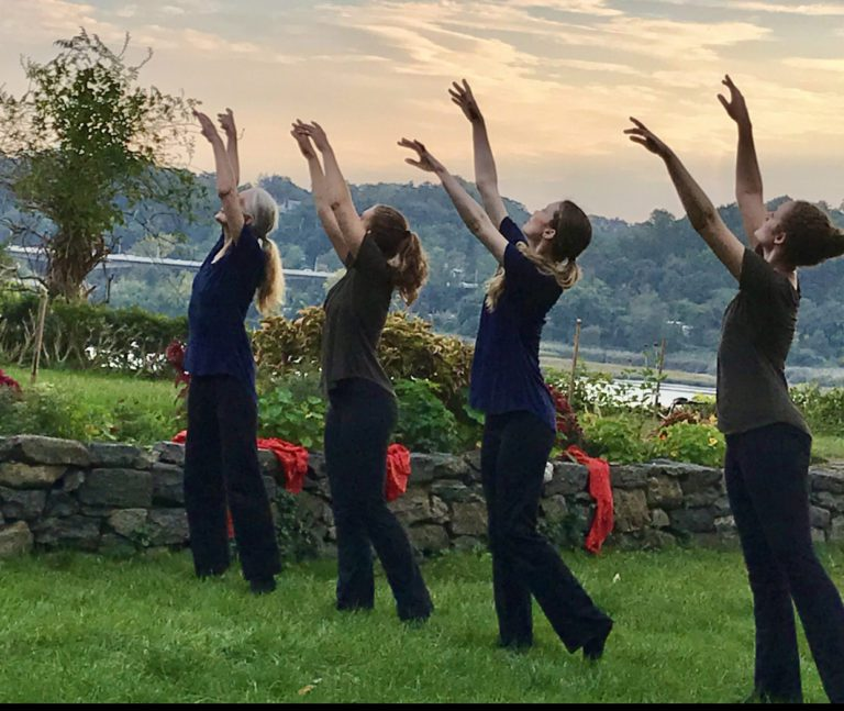 Dance Visions NY presents a dance/theater/poetry performance on the grounds of the Nassau County Museum of Art, 10/16