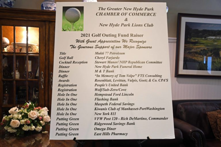 NHP Chamber-Lions Club charity golf outing
