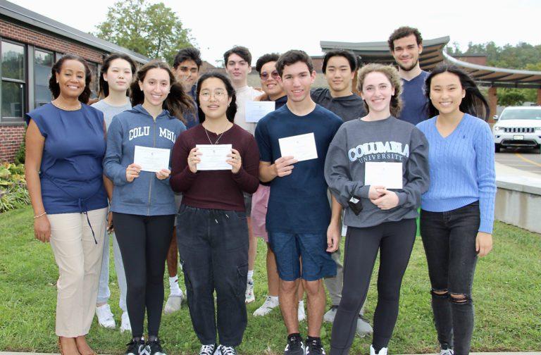Twelve RHS Seniors Named Commended Students in 2022 National Merit Scholarship Program