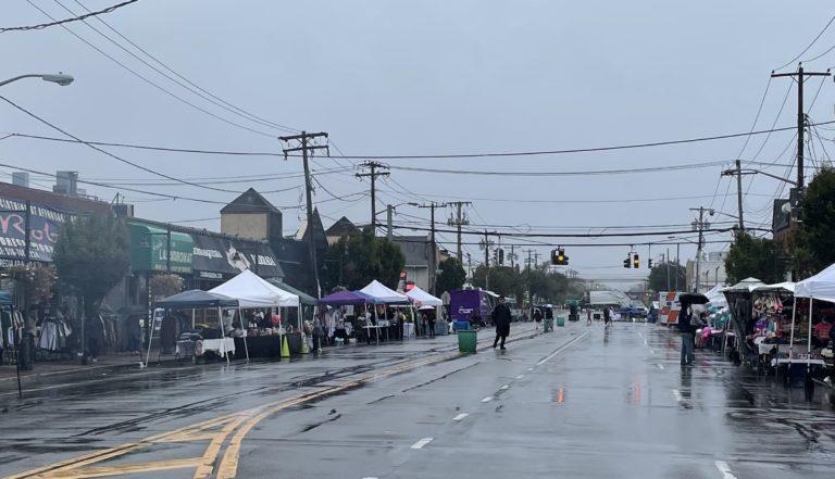 Mother Nature steps in, rains on Mineola Street Fair